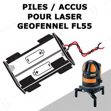 Batterie pour niveau laser METLAND GEOFENNEL FL55