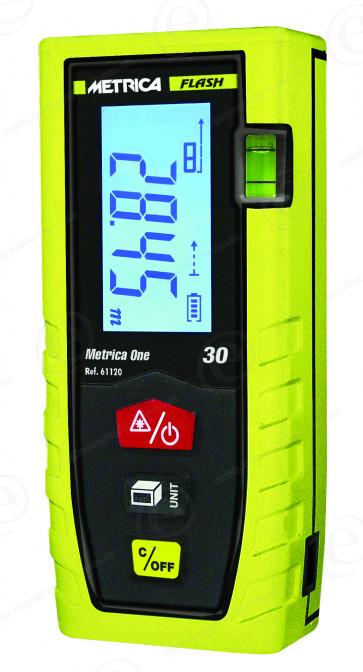 Télémètre laser METRICA One FLASH 30 professionnel