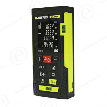 Télémètre laser METRICA FLASH 50 - 61150