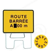 Panneau Route barrée + disque-710490-30