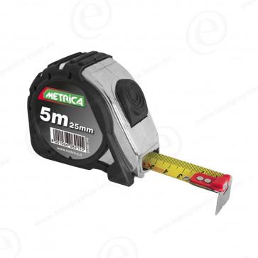Ruban de mesure magnétique 5m METRICA Action Chromed