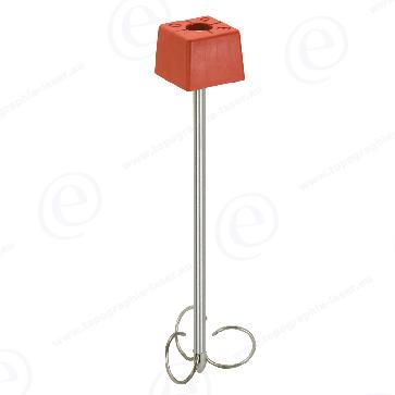 Borne Feno polyroc rouge avec amarrage 500mm