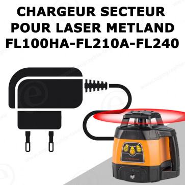 Chargeur pour laser METLAND/GEOFENNEL FL100HA FL210A FL240 AFL40T