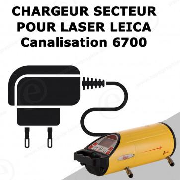 Chargeur LEICA pour laser de canalisation 6700