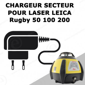 Chargeur LEICA pour laser Rugby 50 100 200
