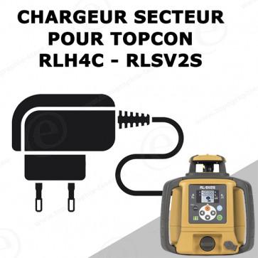 Chargeur TOPCON pour laser rotatif RLH4C et RLSV2S