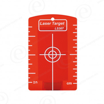 Cible magnétique rouge pour niveau laser ligne et rotatif faisceau rouge