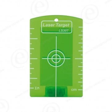 Cible magnétique verte pour niveau laser ligne et rotatif faisceau vert