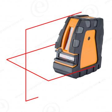 Niveau laser ligne et croix GEOFENNEL FL40 PowerCross faisceau rouge