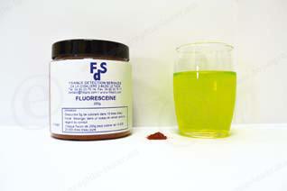 FLUORESCEINE poudre jaune fluo 5kg