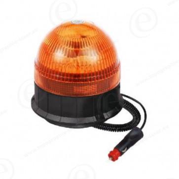 Gyrophare boule 8 LEDS magnetique