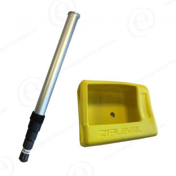 Pack housse de protection et canne télescopique pour altimètre électronique ZIPLEVEL basic et ZIPLEVEL 30 pro