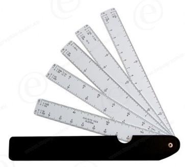Kutch éventail échelle de réduction 1373-450045-31