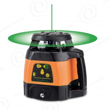 laser tournant faisceau vert