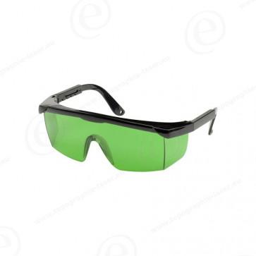 Lunettes laser pour laser faisceau vert
