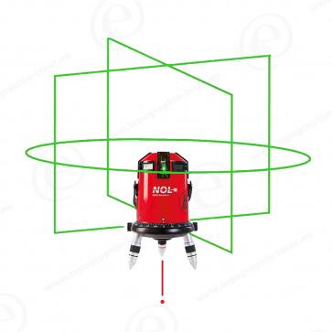 Niveau laser ligne NESTLE Octoliner G green faisceau vert