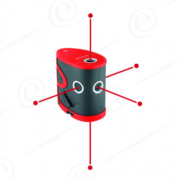 laser point leica lino p5 topographie laser. Black Bedroom Furniture Sets. Home Design Ideas