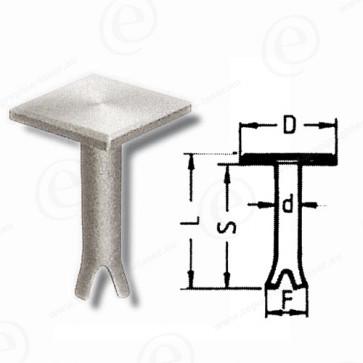 Repère 11m2 Lg 82 mm Lot de 10-652450-31