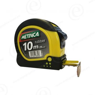 Ruban de mesure METRICA Rubber 10m 25mm 08800-401422-31