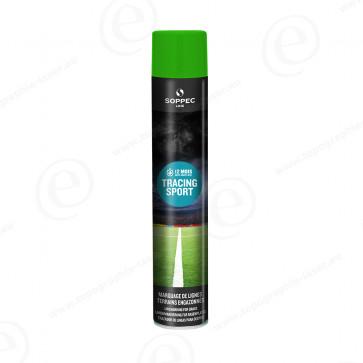 Bombe de peinture Soppec Tracing Sport vert tranceur pour gazon