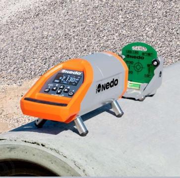 Laser de canalisation vert TUBUS 2 NEDO-204610-31