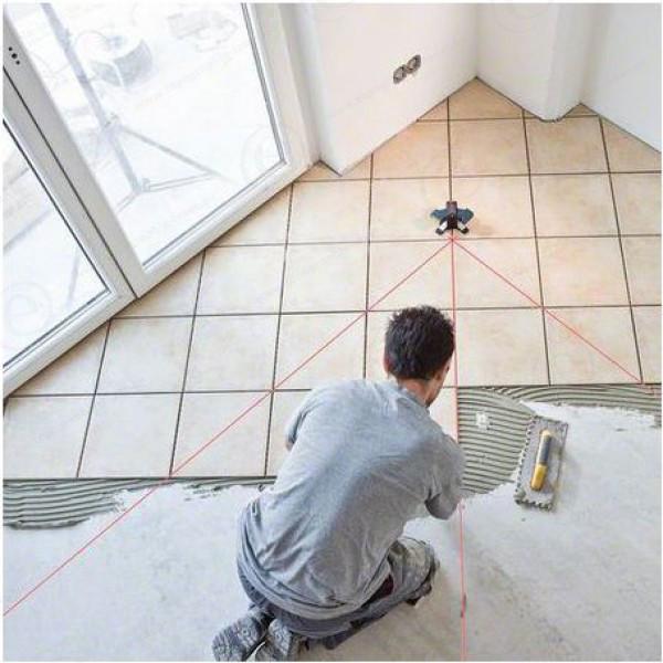 niveau laser carrelage bosch gtl 3 pro topographie laser. Black Bedroom Furniture Sets. Home Design Ideas