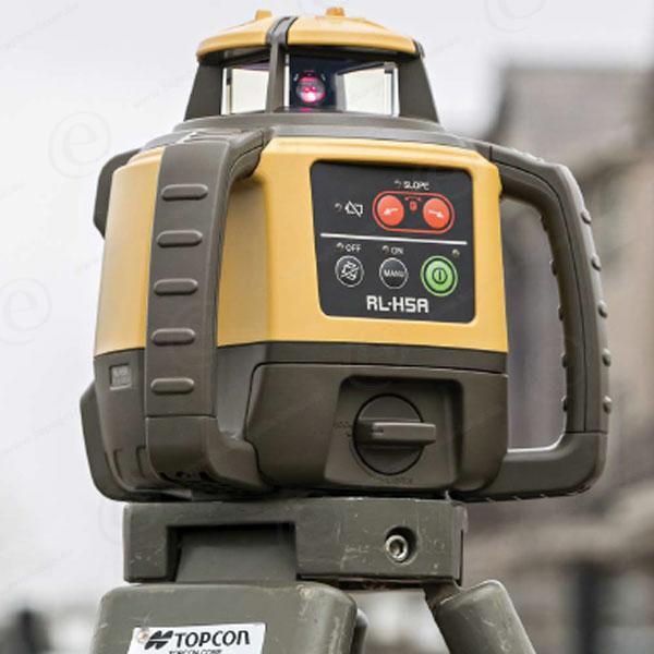 5b0a66abbd383 Niveau laser horizontal TOPCON · Niveau laser rotatif TOPCON RLH5A en pack  avec trépied ...