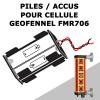 Batterie pour cellule de guidage d'engin GEOFENNEL FMR706