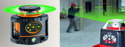 Niveau laser faisceau vert
