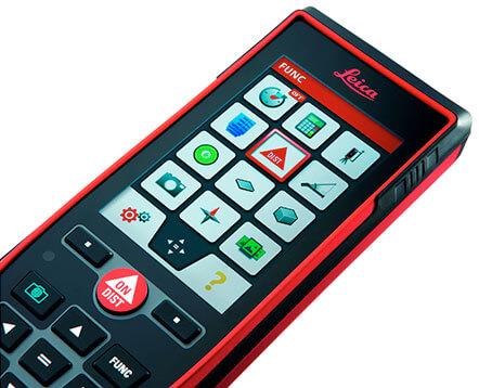 Telemetre LEICA Disto D 810 Touch - vue d'ensemble