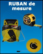 Materiel pour geometre - Ruban de mesure