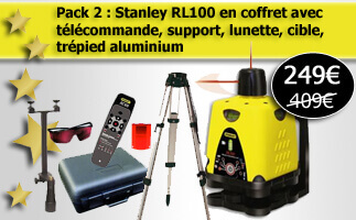 Laser rotatif Stanley pas cher