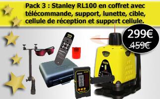 Laser rotatif Stanley pas cher et complet