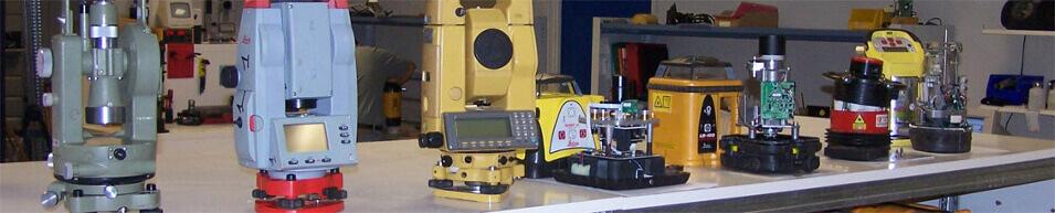 Réparation de niveaux de chantiers, lasers, télémètres