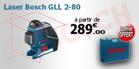 Niveau laser bosch for Laser de chantier pas cher