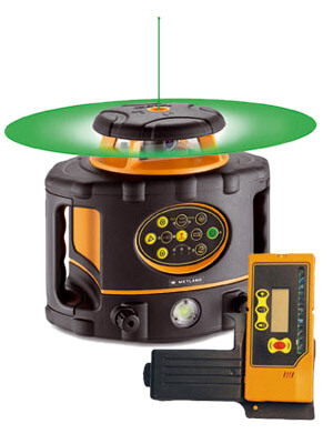 Laser rotatif vert horizontal et vertical automatique