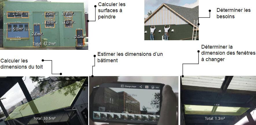Les fonctions du Smart Photo Mesure de STANLEY