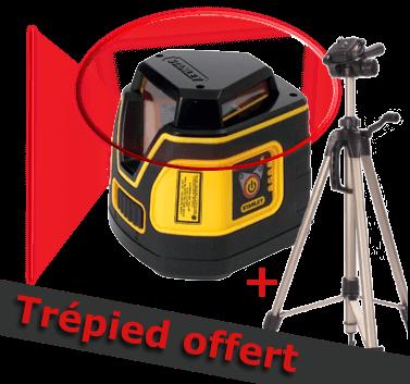 Niveau laser ligne 360° tanley SLL360