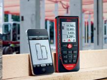 telemetre laser avec fonction bluetooth et compatible smartphone disto D510