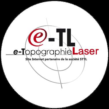 Logo topographie-laser