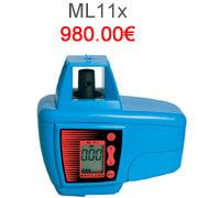 Niveau laser rotatif à pente mikrofyn, laser simple pente de chantier