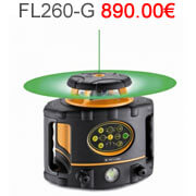 Niveau laser rotatif metland laser horizontal, vertical metland rayon laser vert