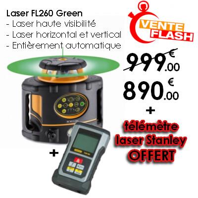 niveau laser en promo avec cadeau, telemetre laser gratuit pour l'achat d'un niveau laser